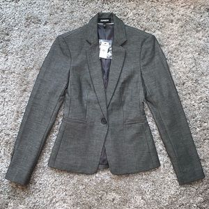 Express blazer in grey, NWT 00